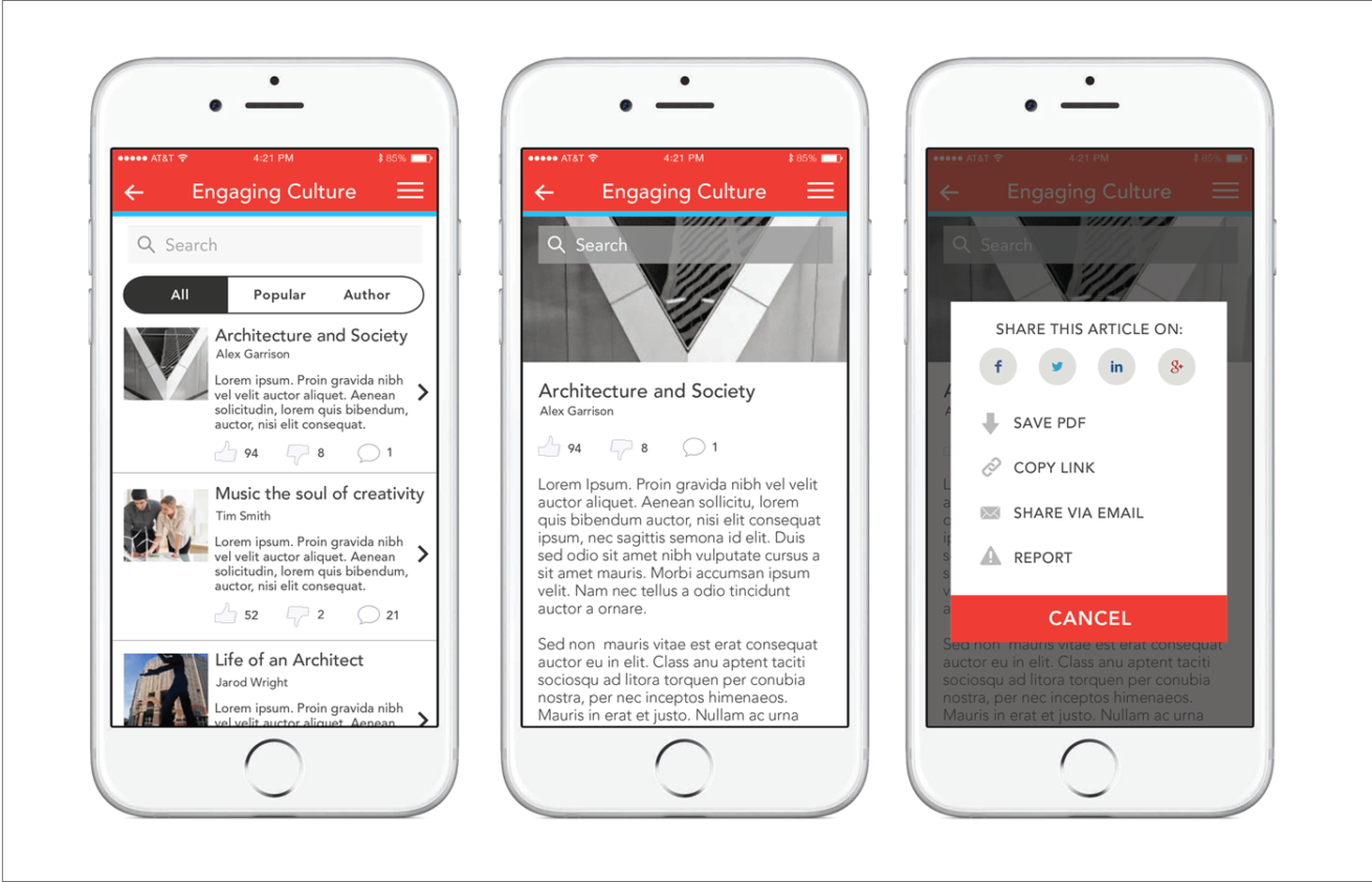 AIA App Layout & Prototyping