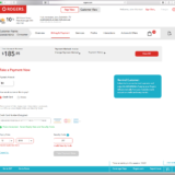 Rogers Payment Page