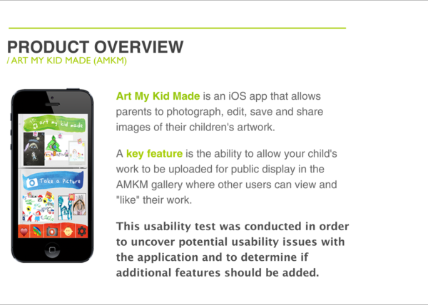 Usability test for a competitive app